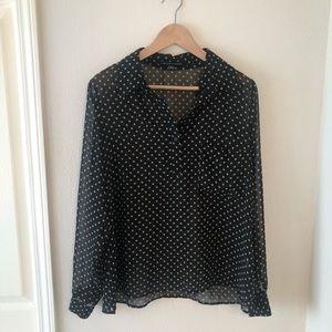 Harlowe & Graham blouse